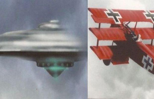 ΤΑ ΠΡΩΤΑ X-FILES: Όταν ΑΤΙΑ έκαναν την εμφάνιση τους πάνω από τα πεδία μαχών του Α΄ Παγκοσμίου πολέμου (Εικόνες)