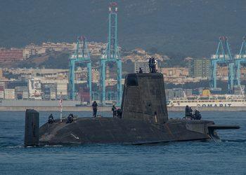 Η Βρετανία σε μια κίνηση ισχύος απέστειλε πυρηνοκίνητο υποβρύχιο στο Γιβραλτάρ