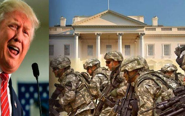 Ψίθυροι για πραξικόπημα! «Σταματήστε τον Τραμπ, πριν το κάνει ο στρατός»