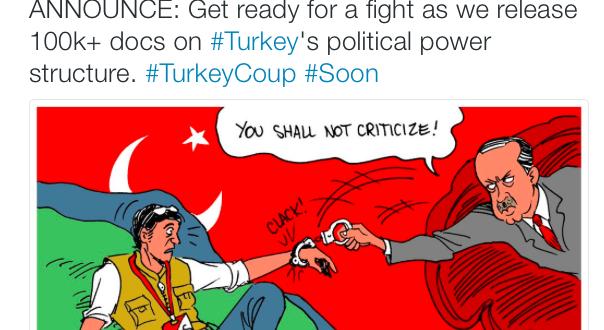 WIKILEAKS: Δίνουν σύντομα έγγραφα για το πραξικόπημα οπερέτα στην Τουρκία!