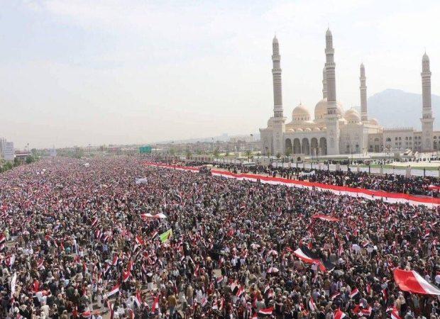 Εκατομμύρια διαδήλωσαν στην Υεμένη – ΣΟΚ στη Σαουδική Αραβία και στη Δύση