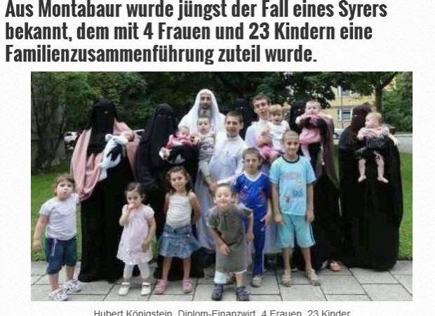 Τα χαρέμια των προσφύγων στη Γερμανία