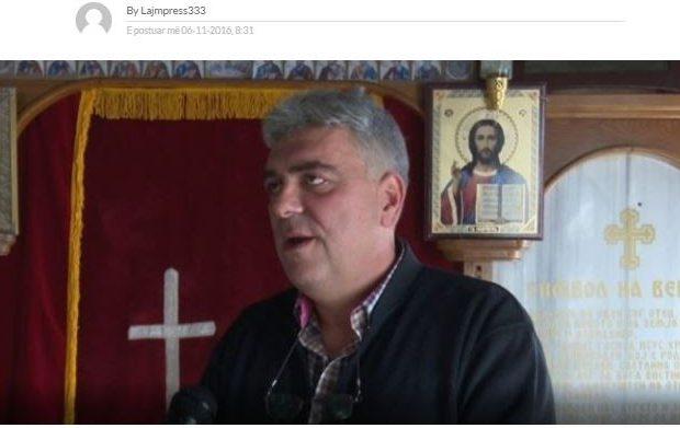 Οι Αλβανοί Σκοπίων …ανησυχούν: Κι άλλος Αλβανός βαπτίσθηκε χριστιανός!