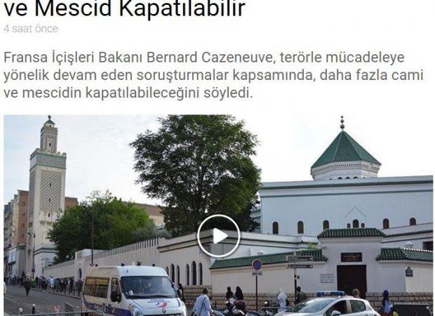 Γαλλία: Θα κλείσουν τα περισσότερα τζαμιά στη χώρα