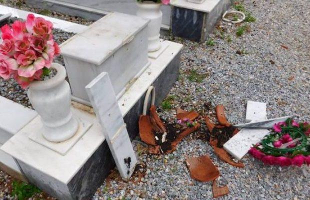 ΛΕΣΒΟΣ – ΣΟΚΑΡΙΣΜΕΝΟΙ ΟΙ ΚΑΤΟΙΚΟΙ ΣΤΗ ΜΟΡΙΑ: Βάνδαλοι κατέστρεψαν τάφους στο νεκροραφείο