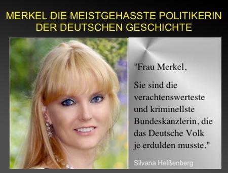 Γερμανίδα Ηθοποιός Περιλούζει την Μέρκελ και την κατηγορεί για Εθνική Προδοσία με Ανοικτή Επιστολή της: «Η Θέση σου Είναι στη Φυλακή»...